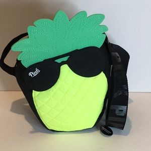 PINK pineapple cooler bag NWT